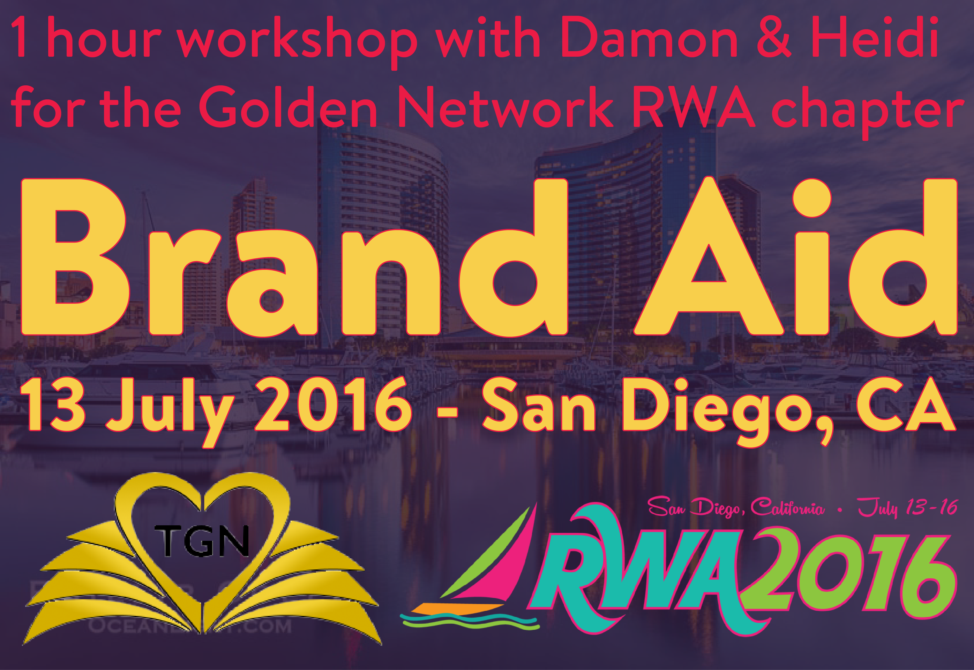 Golden Network @ RWA National Conference 2016 (San Diego, CA)