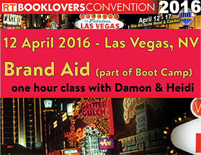 RT Booklovers Convention 2016 (Las Vegas, NV)