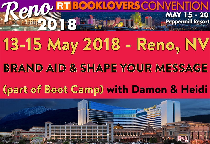RT Boot Camp 2018 classes (Reno, NV)